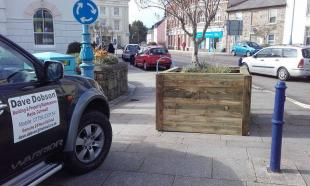 Dave Dobson for making these fabulous replacement olive planters from timber donated by Solo Building Supplies